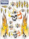 PARMA Flaming Skulls 骷髏火燄