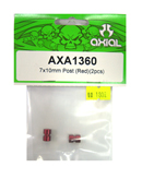 AXIAL AXA1360 鋁合金延伸柱(紅色7X10mm)
