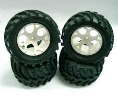 GS大腳車胎(4入)