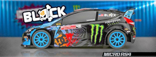HPI 111224 MICRO RS4 DRIFT 1/18 �q�ʥ|�X�ϧ��Ш�RTR(KEN BLOCK 2013�K��)