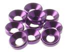 4MM 鋁合金錐形墊片(紫色)