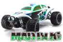 KYOSHO 30994T1 1/10 EP Mad Bug VE Readyset T1 大金龜全套組 (白綠)