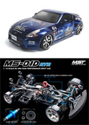 MST MS-01D SPEC.2 1/10 �q�ʥϧ��Ш�RTR(NISMO 370Z)
