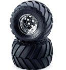 TAMIYA 9805618 威力小子大腳車前胎框組