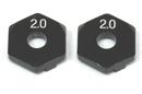 ReveD RD-005S2 鋁合金12mm 六角輪座墊片(2mm厚)