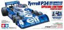 TAMIYA 47392 Tyrrell P34  F103 六輪F1平跑車套件(1977 Monaco GP)