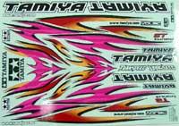 TAMIYA 貼紙/部落之火