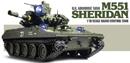 TAMIYA 56043 田宮 U.S. M551 Sheridan 謝里登1/16遙控戰車套件