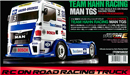 TAMIYA 58632 TEAM HAHN RACING MAN TGS 1/14 競速拖車頭套件(TT-01 TYPE-E)