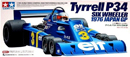 TAMIYA 84111 六輪F-1 Tyrrell P34 F1 1976 JAPAN GP